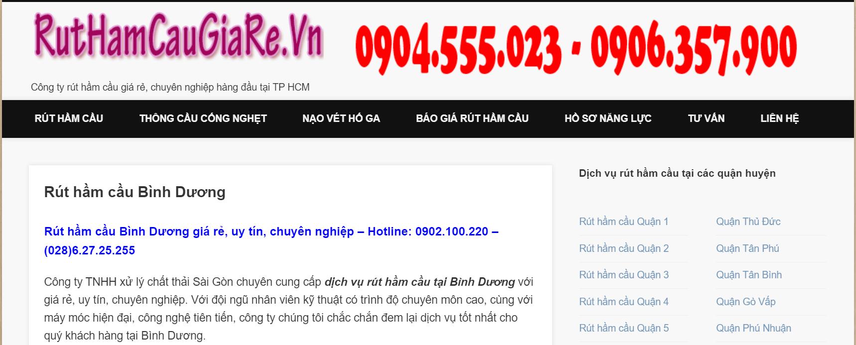 Xử Lý Chất Thải Sài Gòn